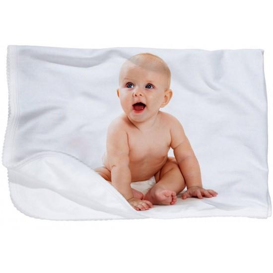 Manta de bebé personalizada