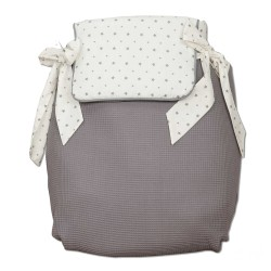 Bugaboo coverlet Little Star Gray