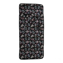 Lightweight chair mat Lovely Black Skull