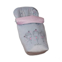 Sack Chair with Mittens Cute Ballerina