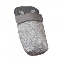Bag Silla + Mittens Gray Game