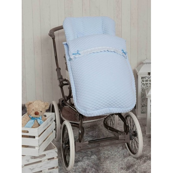 Footmuff for the Sweet Blue stroller