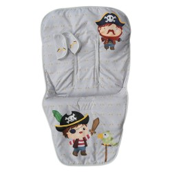 Chair mat Harness Covers Bad Pirate