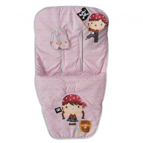 Group 0 canopied mat and covers Harness Pretty Pirate