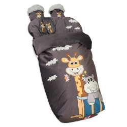 Waterproof bag chair with Mittens and covers Harness Enjoy