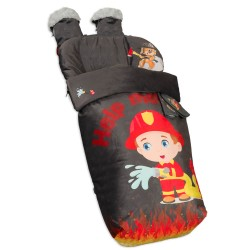 Waterproof bag chair with Mittens and Harness Covers Fireman