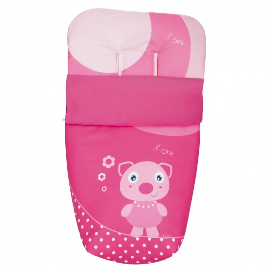 Pink Pig Saddle Footmuff