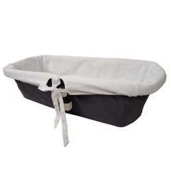 Funda universal white bassinet