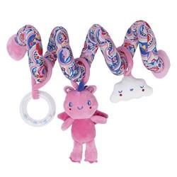 Enjoy & Dream Pink Spiral Rattle