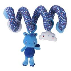 Enjoy & Dream Blue Spiral Rattle