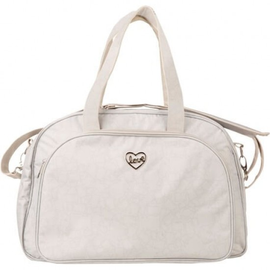 Maternity Bag and Changing Table Biscuit Gray