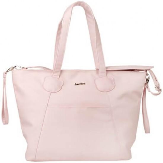 Maternity Bag + Brioche Changing Pad Pink