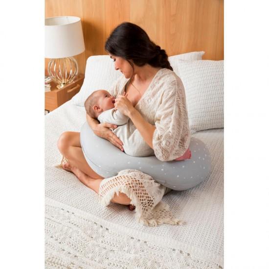 Maternal Cushion First Feeling Weekend Constellation Pink