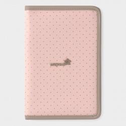 Pink Polka Dot Document Holder