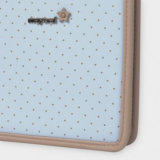 Blue Polka Dot Document Holder