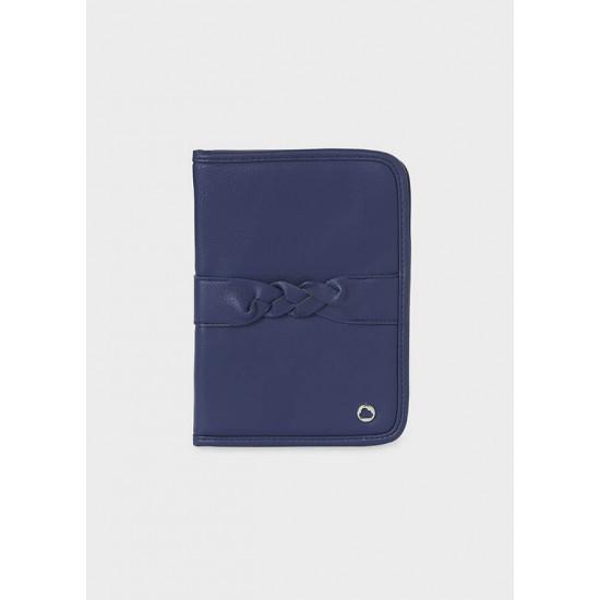 Trenza Night Blue Document Holder