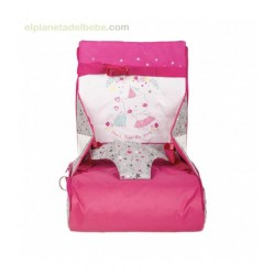 Stories Girl Portable Highchair