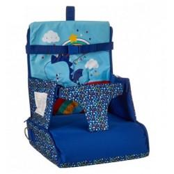 Trona Portátil Azul Enjoy & Dream