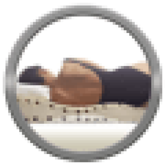 Colchón cuna baby memory visco, talla 140x70cm, color blanco / gris