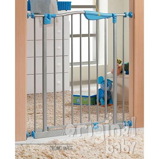 Barrera de seguridad de metal para puerta modelo Jim