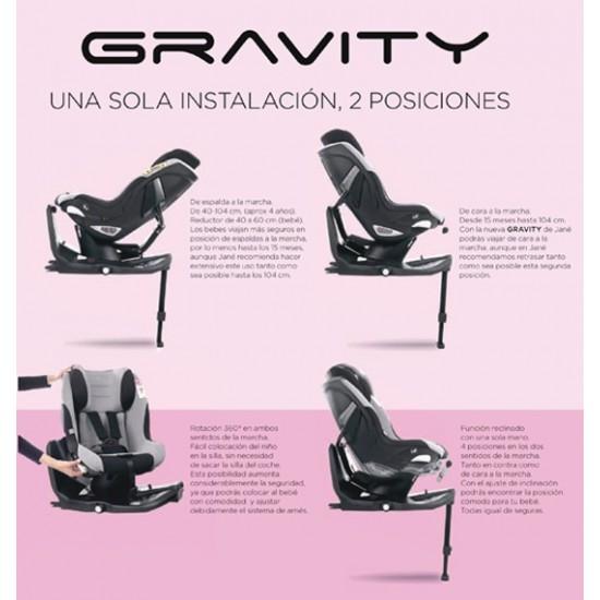Silla de auto Isofix I-Size Gravity Soil de Jané