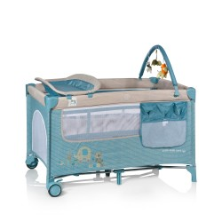 Plus travel cot blue Complet MS Innovations