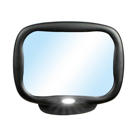 Espejo de seguridad para automóvil 360º con luz LED de Innovaciones MS