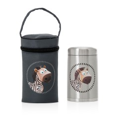 Steel thermos solid MS 750