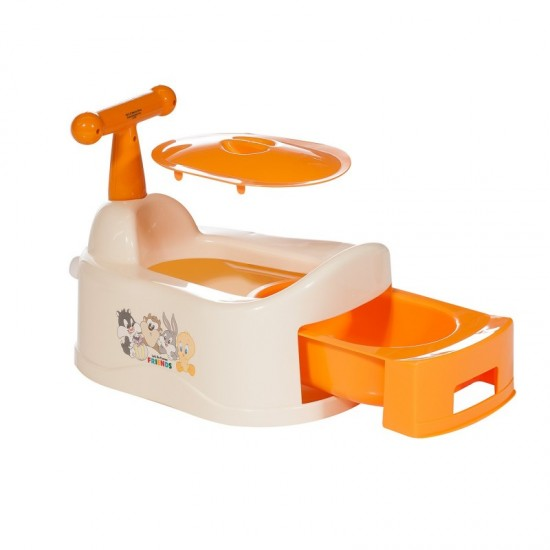 Orinal con asa Warner naranja de Innovaciones MS