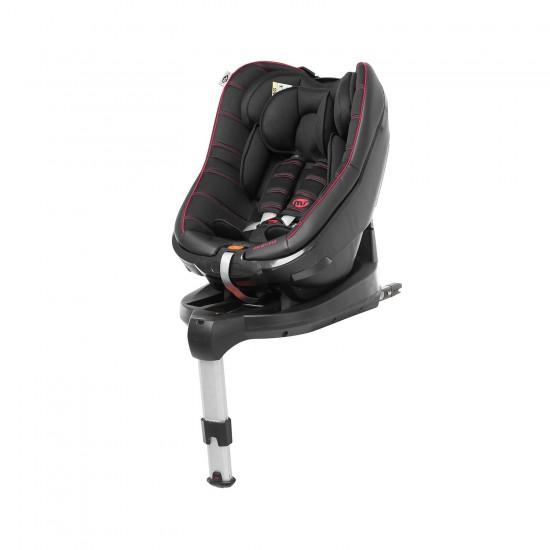 Silla de auto Pilot Fix I-Size Grupo 0+1 negro-rojo de Innovaciones MS