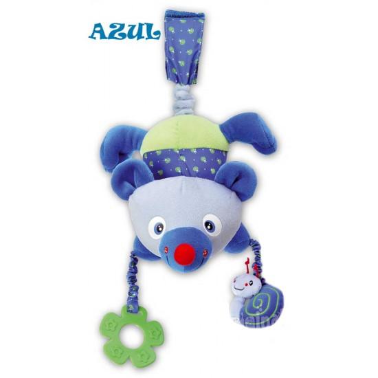 Sonajero con velcro y Temblón Azul Saro