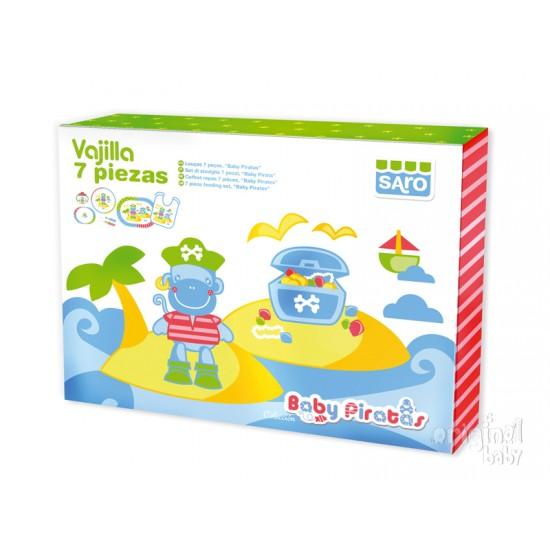 Vajilla 7 piezas Beach bebé