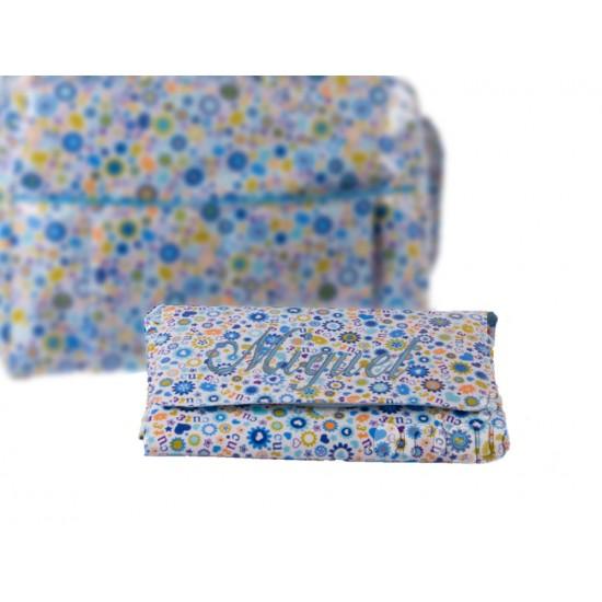 Vestidor Plastificado Primavera Azul