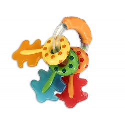 Keys rattle with teether