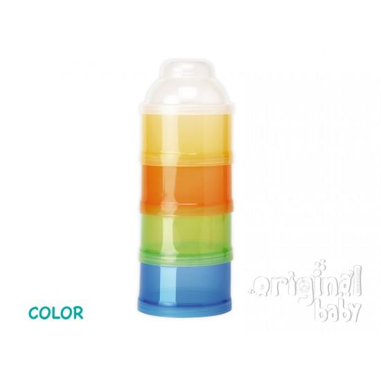 Contenedor de leche en polvo Color