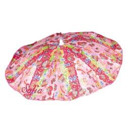 Hippie chair umbrella Fuchsia