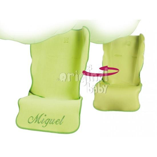 Funda Silla Sencilla Verde Reversible
