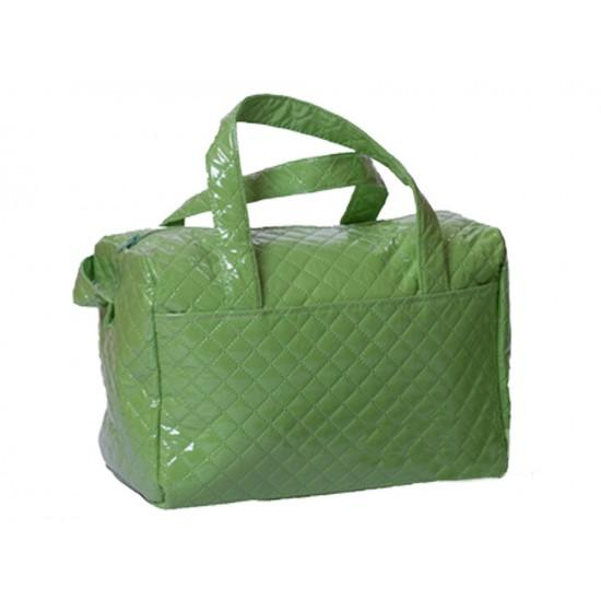 Bolso Plastificado Sencillo Verde