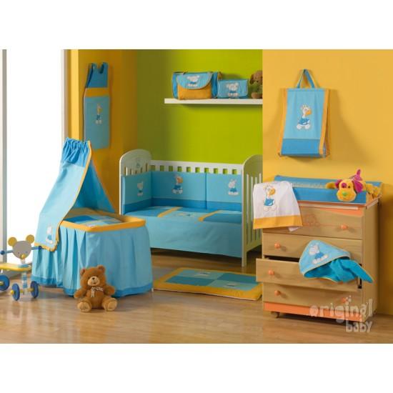 Cesta Botellero habitación bebé Circo 15