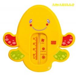 Termómetro de baño snorkel amarillo Pulpo