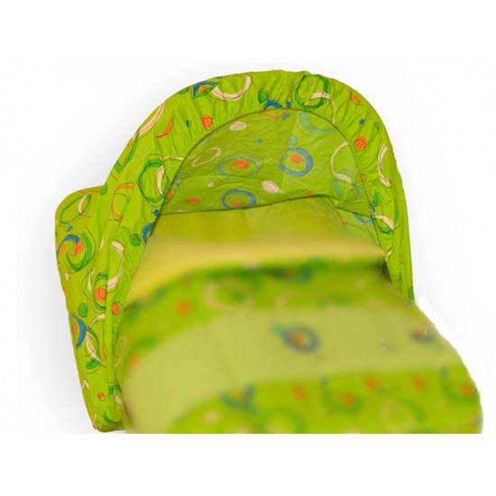 Toldo-Capota Porta bebé Planetas Verde