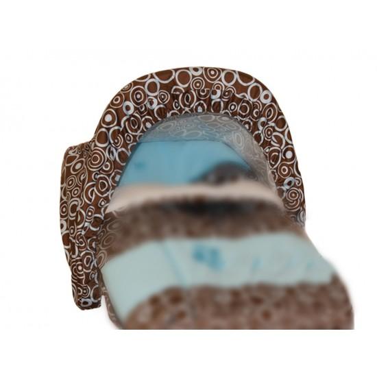 Toldo-Capota Porta bebé Pop Azul