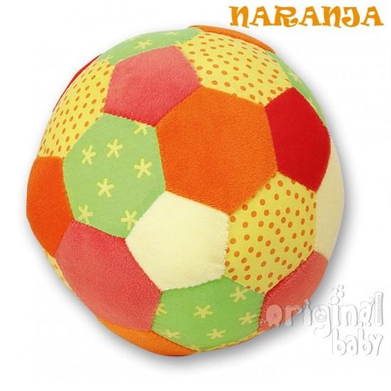 Mi primer balón con chip musical naranja