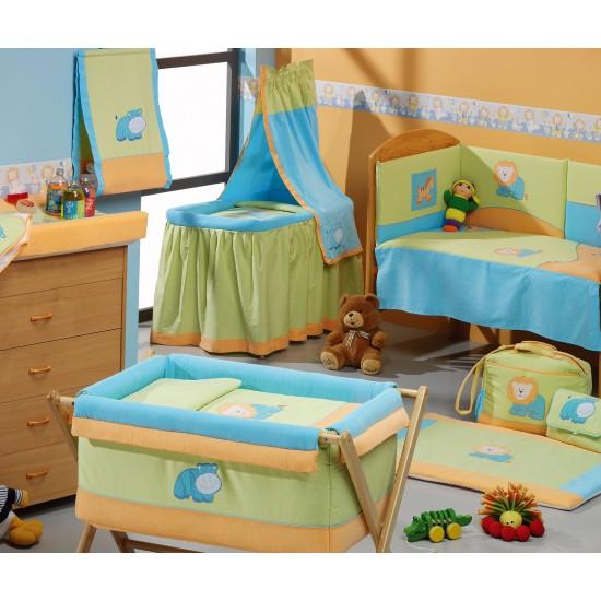Crib metal canopy Zoo 02