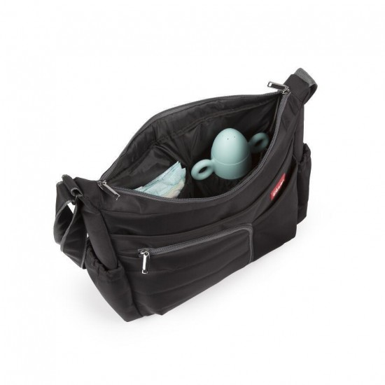 Bilma bag black baby ride click