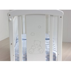 White Bear cradle structure Pillow
