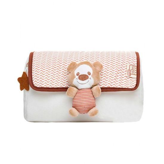 Neceser de bebé osito beige