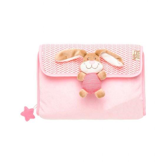 Porta pañales Conejito rosa
