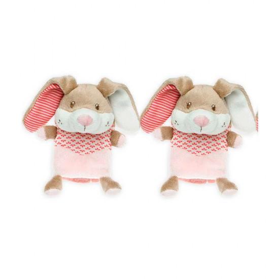 Protege Cinturón de seguridad conejito rosa