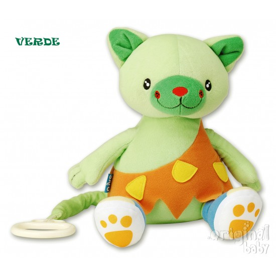 Peluche Musical Verde baby jurásico